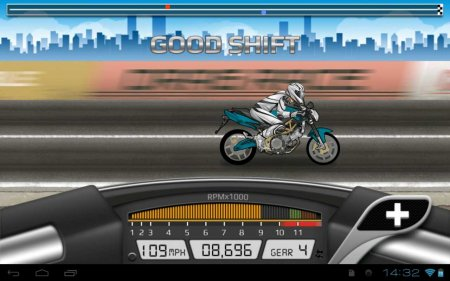 Drag Racing: Bike Edition (обновлено до версии 1.0.19)