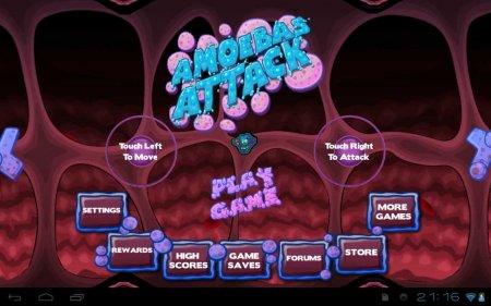 Amoebas Attack