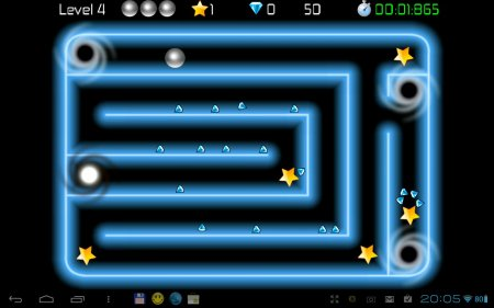 Tilt Labyrinth: Neon Gravity версия 1.1
