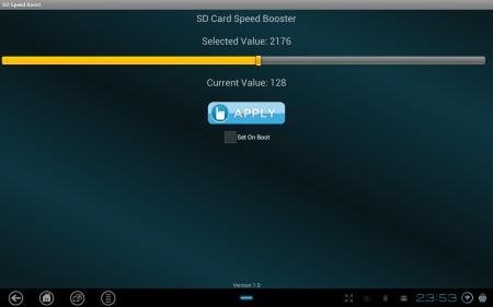 SD Card Speed Booster