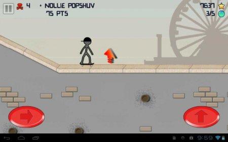 Stickman Skater Pro версия 1.4.1