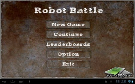 Robot Battle версия 1.1