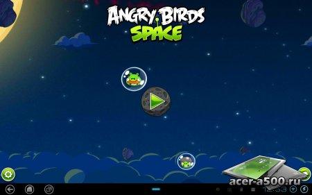 Angry Birds Space Premium v1.6.0 [свободные покупки]