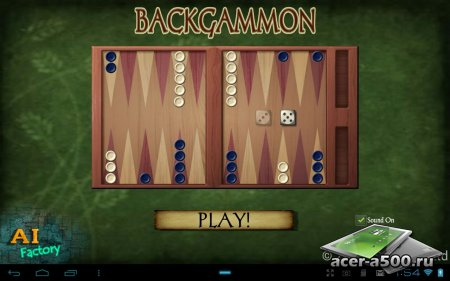 Backgammon (обновлено до версии 1.72)