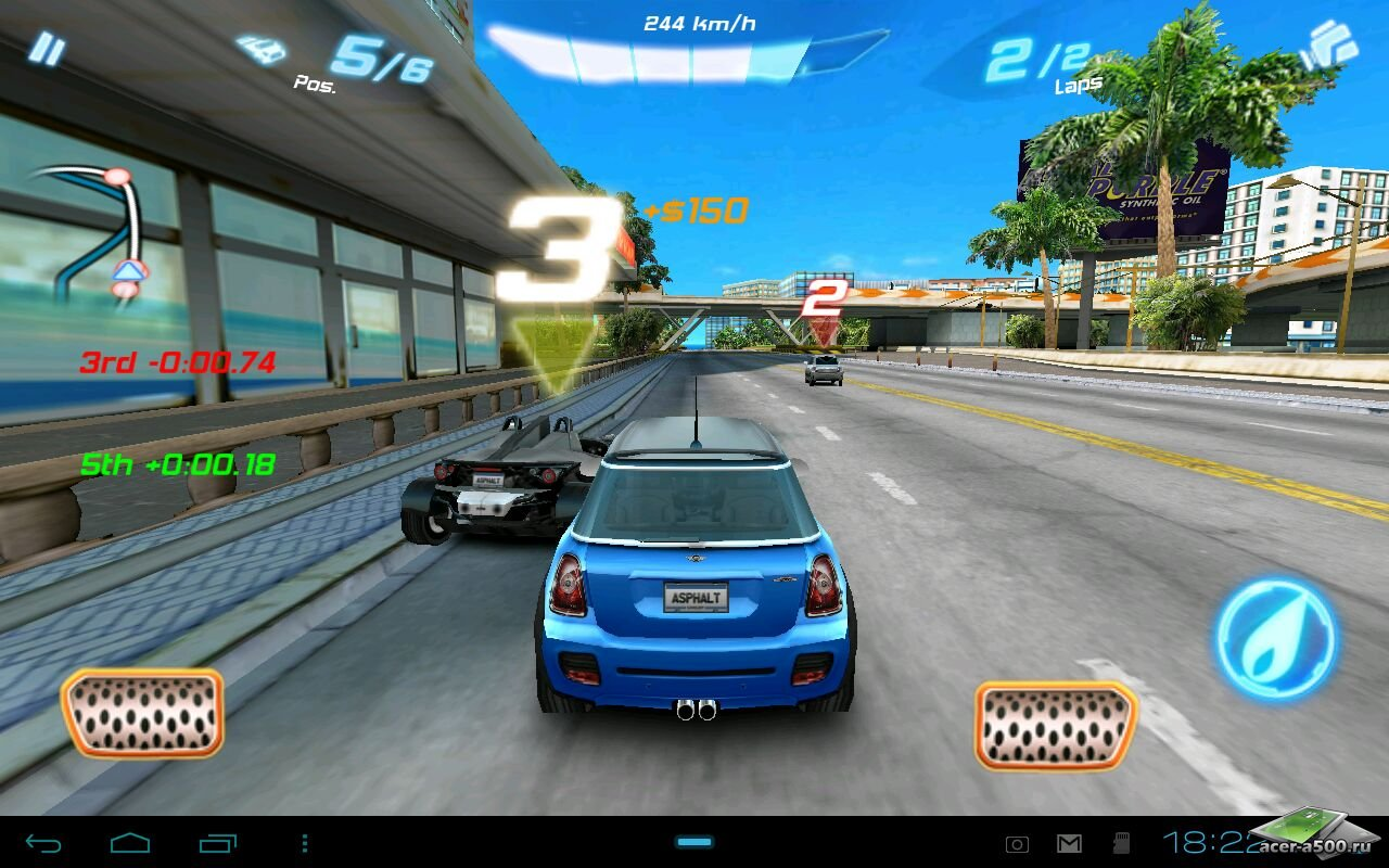 Asphalt 6 Adrenaline Hd Data 480x800