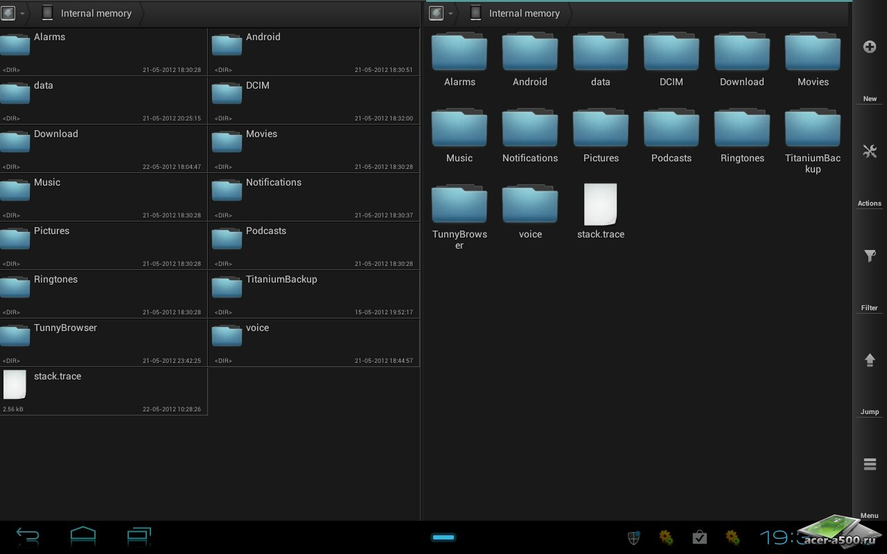 """Файловый менеджер """"Solid Explorer"""" для планшетов на Android"""