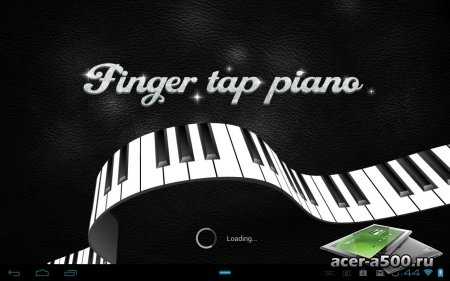 Pianist HD - Finger Tap Piano (обновлено до версии 20120428)