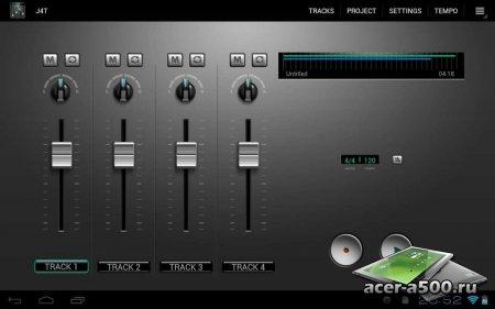 J4T Multitrack Recorder (обновлено до версии 3.35)