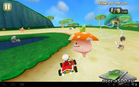 Mole Kart версия 1.0.1 [G-сенсор]
