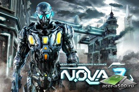 N.O.V.A. 3 для Android уже скоро!