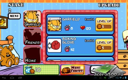 Garfield's Defense: Attack of the Food Invaders версия 1.0.0