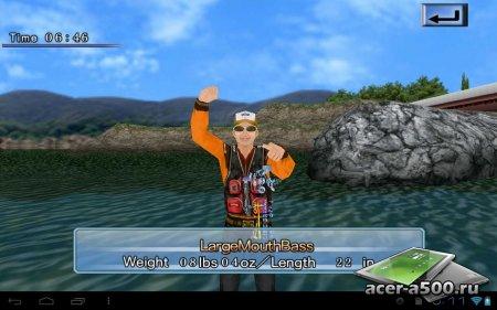 Bass Fishing 3D On The Boat версия 1.0.1