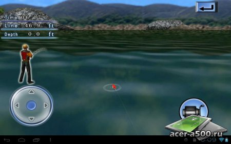 Bass Fishing 3D On The Boat версия 1.0.1