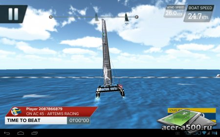 America's Cup - Speed Trials версия 1.1.0 [G-сенсор]