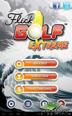 Flick Golf Extreme (��������� �� ������ 1.3)