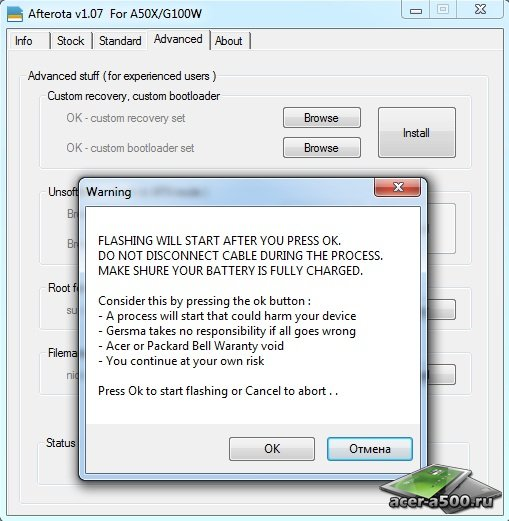 Acer Iconia A500 Apx Drivers Download