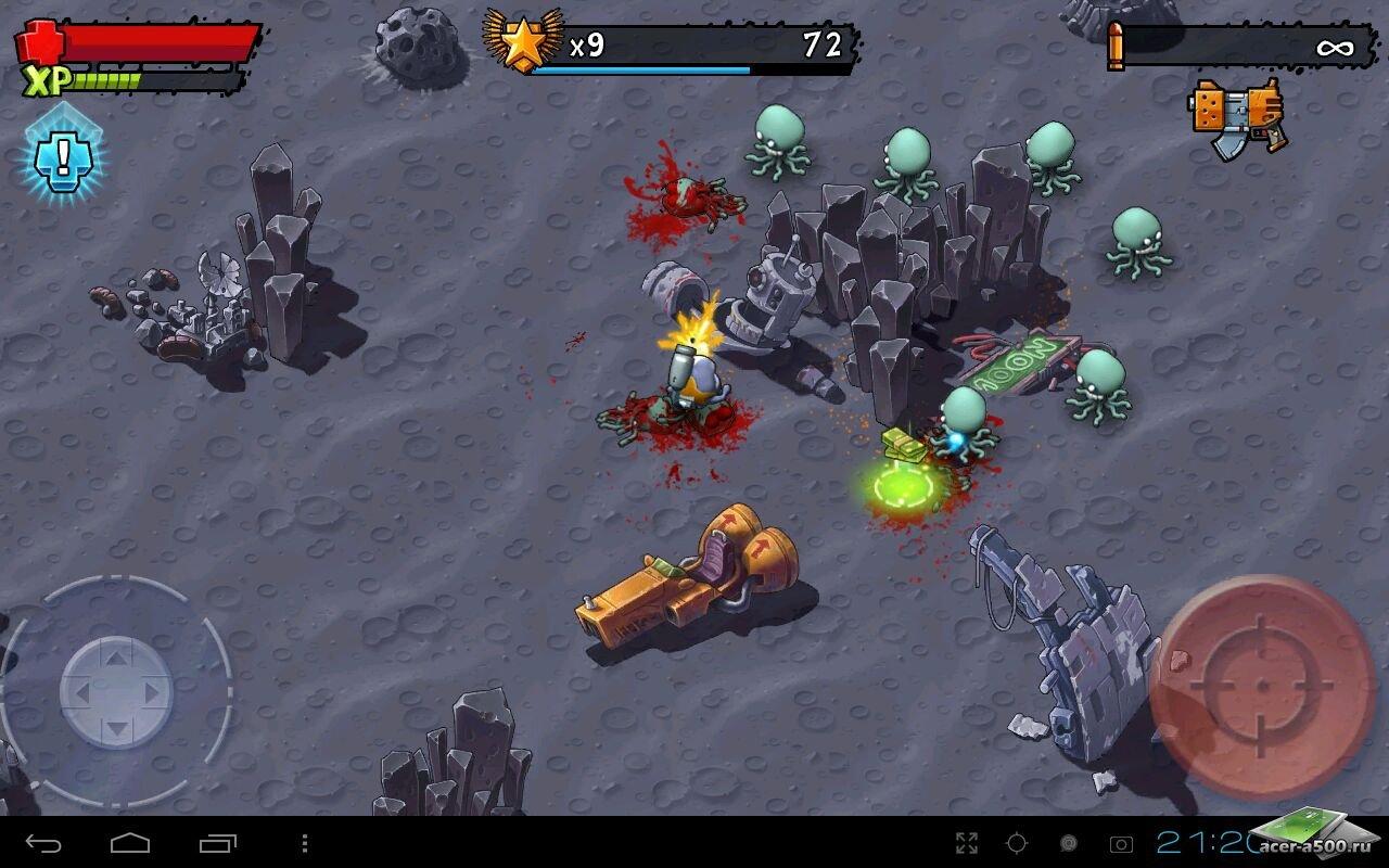 "Игра ""Monster Shooter: Lost Levels"" для планшетов на Android"