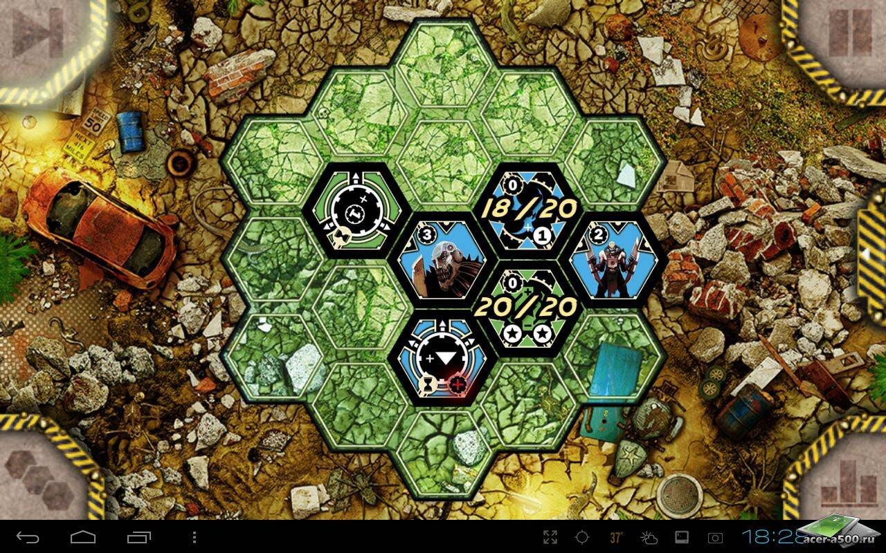 "Игра ""Neuroshima Hex"" для планшетов на Android"