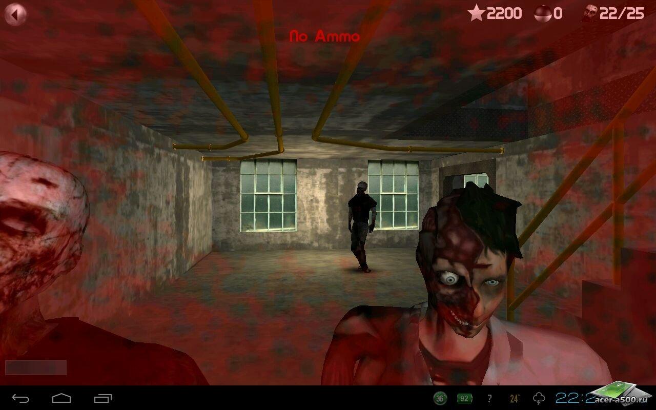 """Игра """"Zombie Defense"""" для планшетов на Android"""