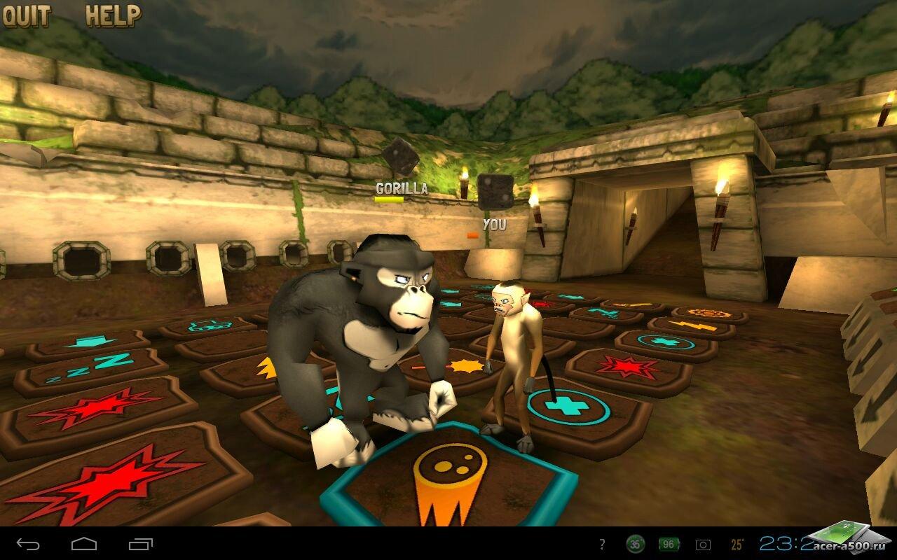 "Игра ""Battle Monkeys Multiplayer"" для планшетов на Android"