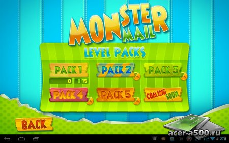 Monster Mail версия 1.0