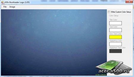 Как установить разлоченный оригинальный ICS / HC загрузчик V8 0.03.14-ICS на Acer Iconia TAB A500 / A501 ) (добавлен способ установки без ПК, без знания CPUID и SBK)