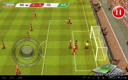 Striker Soccer Euro 2012 Pro (обновлено до версии 1.6.1)