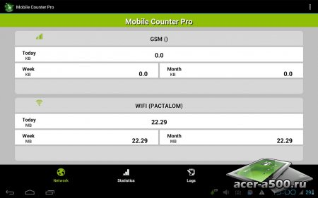 Mobile Counter Pro - 3G, WiFi (обновлено до версии 3.2.2)