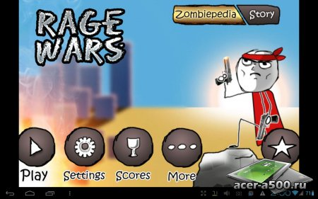 Rage Wars - Meme Shooter версия 1.1.2