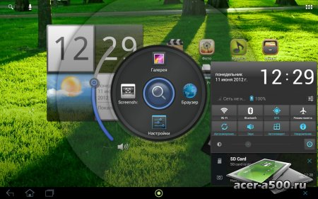 Прошивка с Android 4.0.4 для Acer Iconia TAB A500/A501 (Taboonay 3.2 beta3) (с поддержкой 3G для A501)