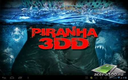 Piranha 3DD: The Game версия 1.0.0 [G-сенсор]
