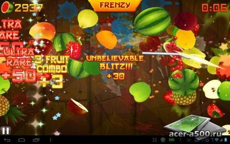 Fruit Ninja HD версия 2.3.4 [мод Unlocked]