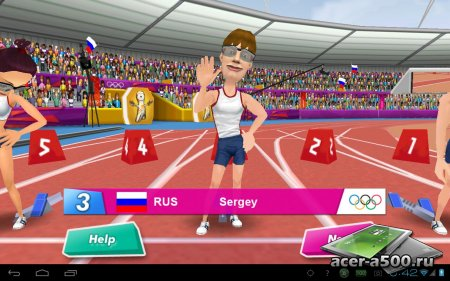London2012-Official Game версия 1.4