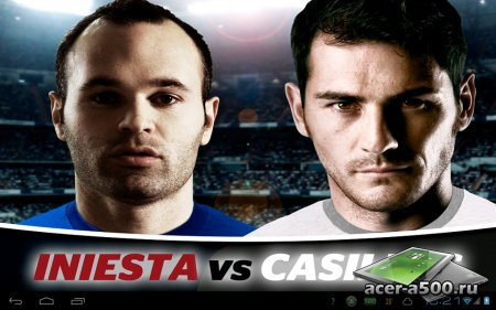 Iniesta VS. Casillas