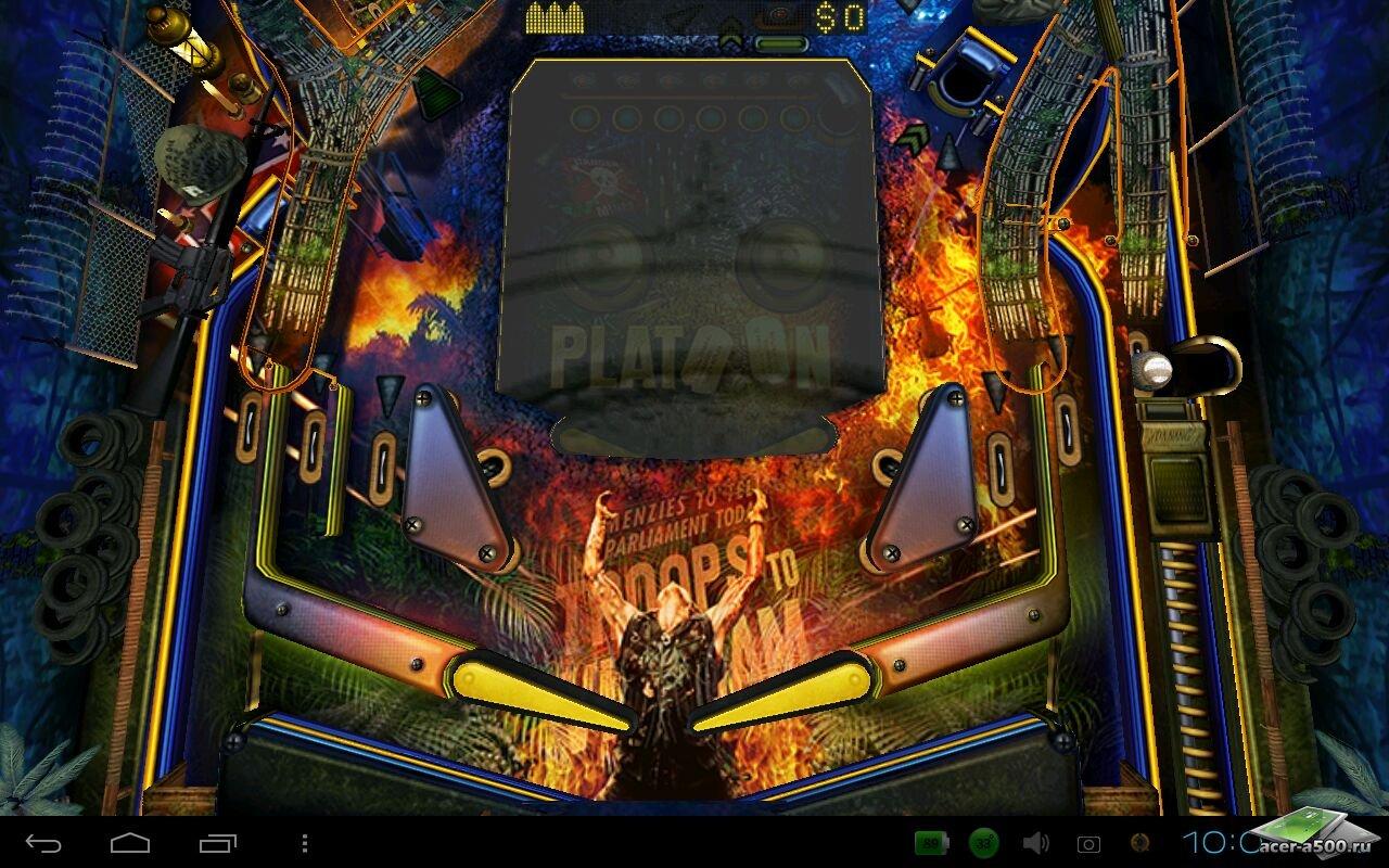 Игры war pinball hd для iphone / ipad screenshot