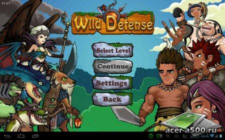 Wild Defense версия 1.1