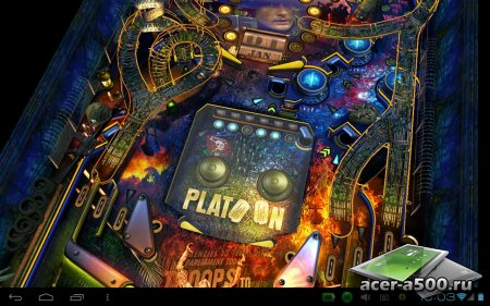 War Pinball HD (обновлено до версии 1.1 build 10287)