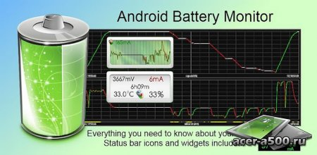 Battery Monitor Widget Pro (обновлено до версии 2.7.7)