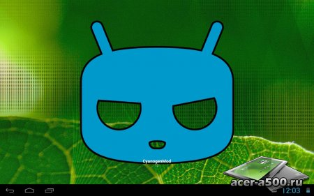 Cyanogenmod 10 на основе Android 4.1.1 Jelly Bean для A500/A501 от Jellybellys