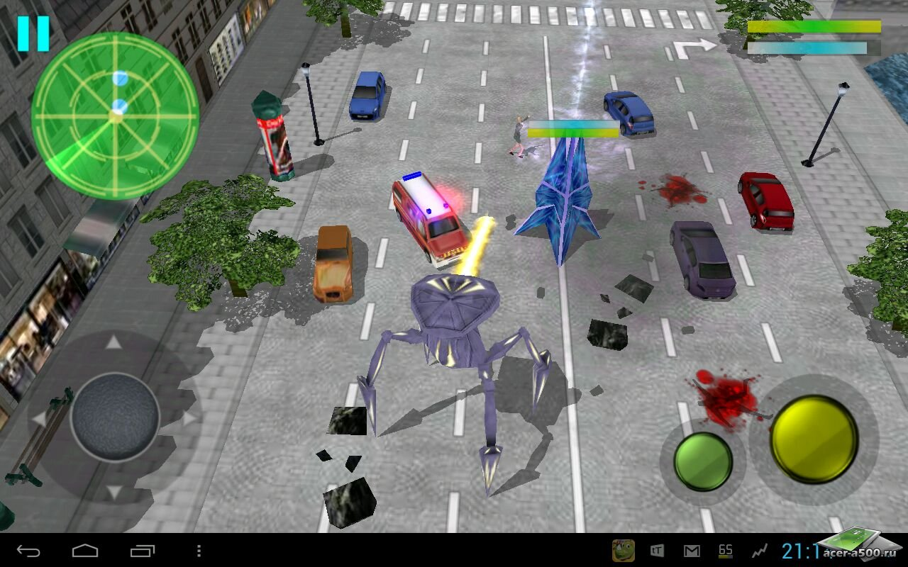 "Игра ""Paris Must Be Destroyed"" для планшетов на Android"