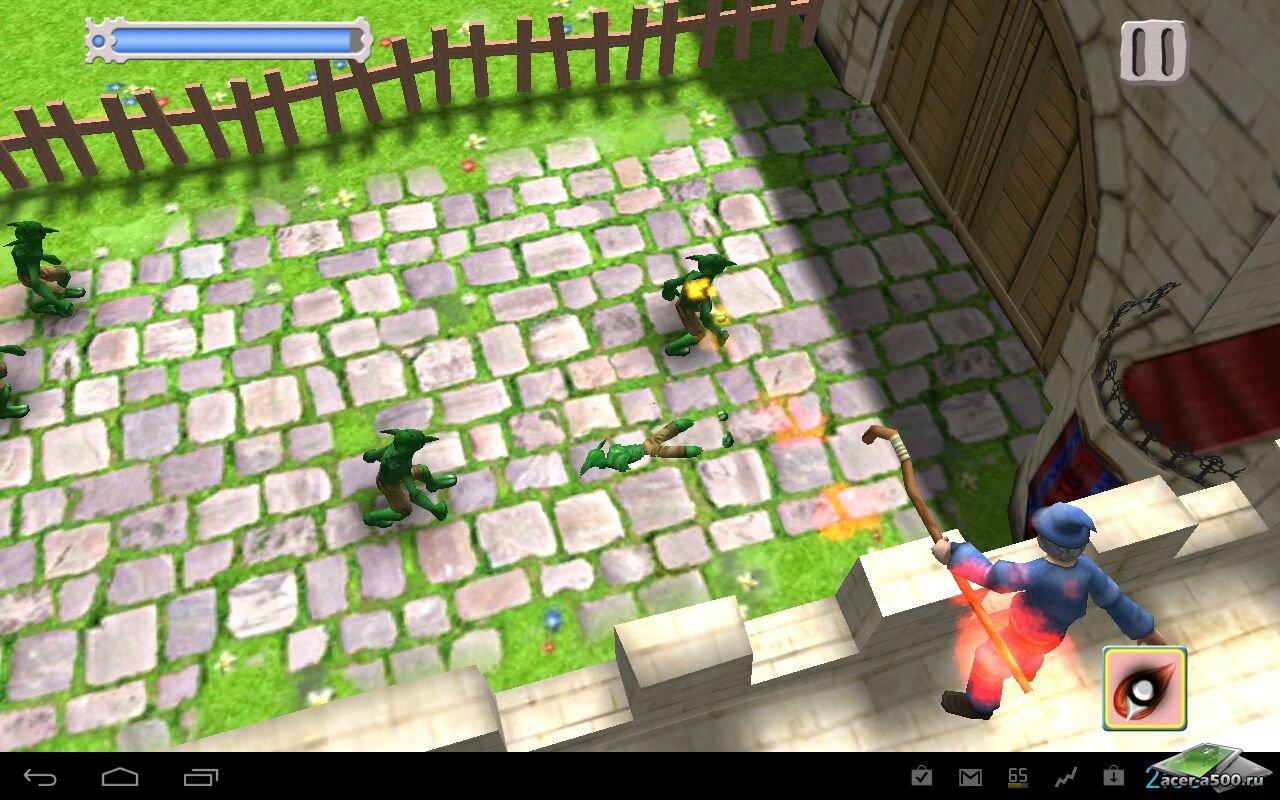 "Игра ""Melo's Magic: Castle Defense"" для планшетов на Android"