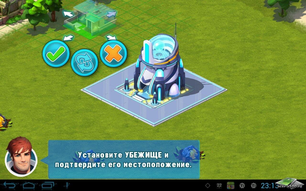 """Игра """"Cosmic Colony"""" для планшетов на Android"""