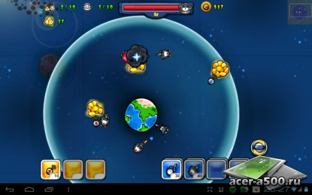 Cartoon Defense: Space wars версия 1.0.0