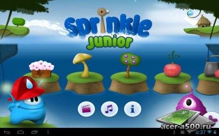 Sprinkle Junior (обновлено до версии 1.1.1)