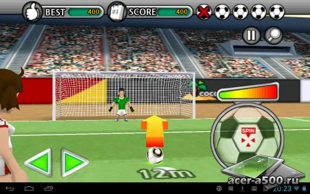 Freekick Battle версия 1.0.1