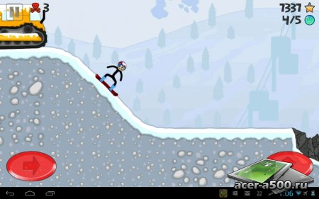 Stickman Snowboarder версия 1.0.1