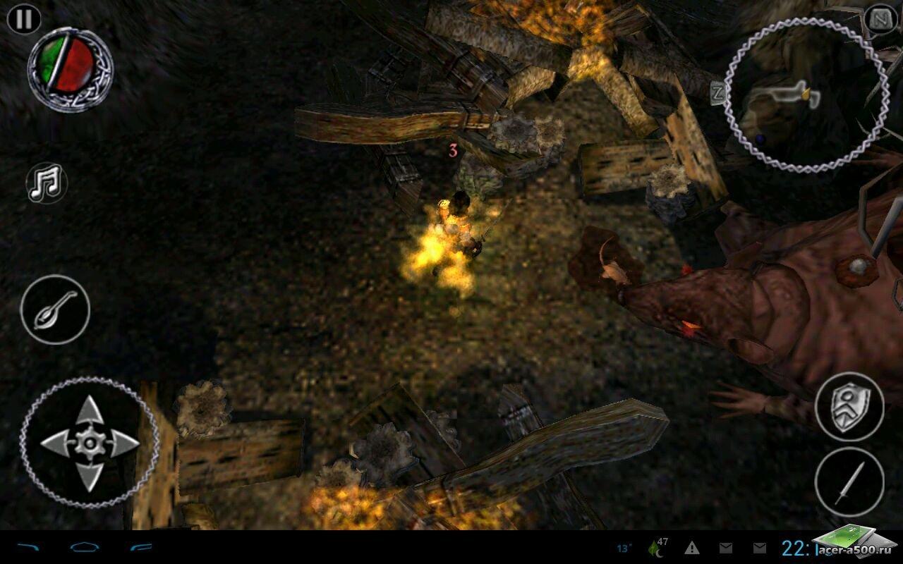 """Игра """"The Bard's Tale"""" для планшетов на Android"""