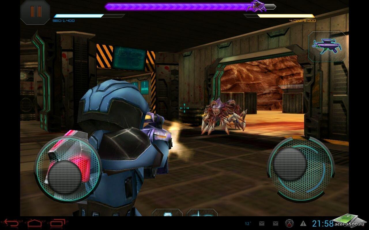 "Игра ""Star Warfare: Alien Invasion"" для планшетов на Android"