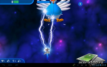 Chicken Invaders 3 HD (Tablet) версия 1.05ggl