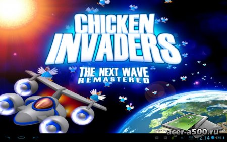 Chicken Invaders 2 HD (Tablet) версия 1.00ggl